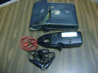 GE Voltmeter Meter Snapper 942D With Orginal Case Free Shipping
