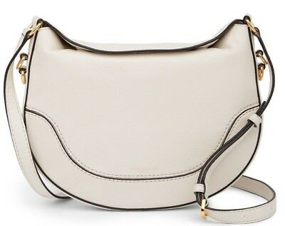 d4ac74ecbd77  362 NWT Marc Jacobs The Small Leather Drifter Crossbody Bag VINTAGE WHITE