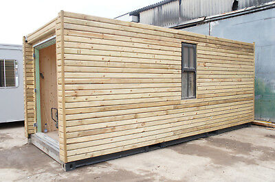20ft Container Camping Glamping Pod Cocoon, Bunkabin, Sleeper unit, Shepperd hut