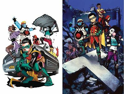 TEEN TITANS #20 1st Print Set of 2 Variant Crush DC Comics NM Presale 7/22/2018