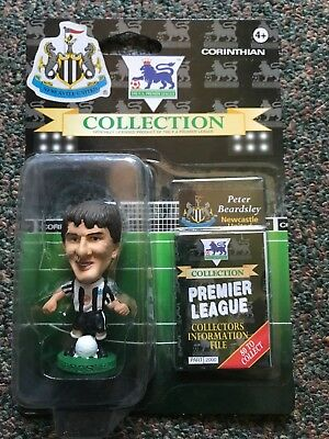 Brand New Rare Corinthian Newcastle United Peter Beardsley Football Figure