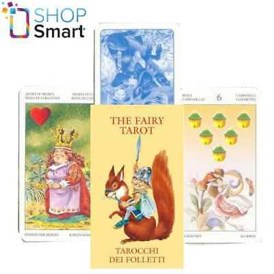 The Fairy Mini Tarot Cards Deck Esoteric Lo Scarabeo New