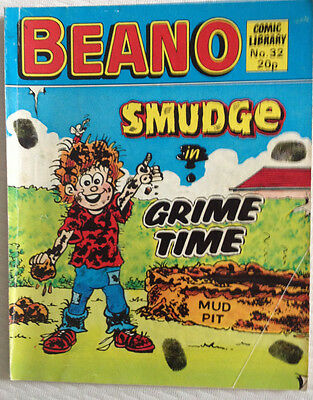 Beano Comic Library 32 Smudge in Grime Time