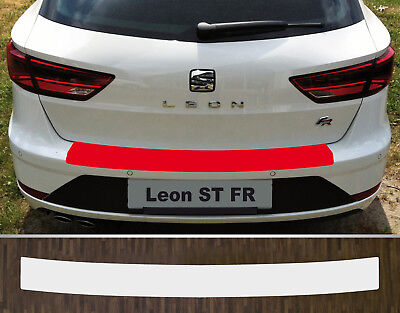 Clear Protective Foil Bumper Protection Transparent Seat Leon st Fr, from 2017