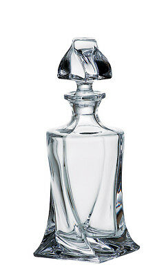 Glass Whisky Decanter 500ml Brandy Liqueur Sherry Scotch Carafe Bohemia Crystal