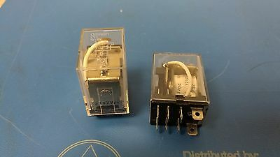 Lot of 2 pcs Omron LY1 12VDC Cube Relay NEW