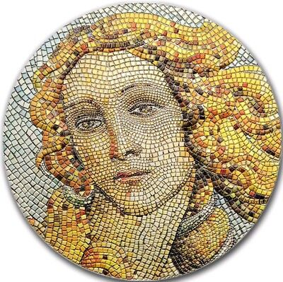2017 Palau $20 GREAT MICROMOSAIC PASSION,BIRTH OF VENUS 3 Oz Silver Coin ON HAND