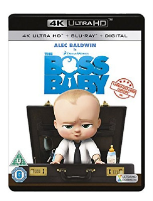 Boss Baby 4K Uhd Bluray Digital Hd Uv  DVD NEW