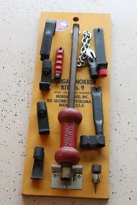 Morgan Mfg Nokker No 9 Kit with Mounting Tool Board Slide Hammer Local P/U Avail
