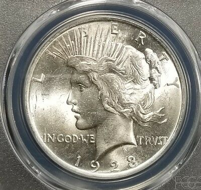 1923 Silver Peace Dollar PCGS MS64 (091)