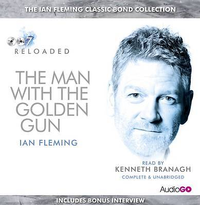 The Man With The Golden Gun - Ian Fleming - 4 Cd Audio Book - New/sealed