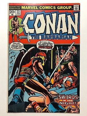 Conan The Barbarian #23 (Marvel, 1973) 1st Red Sonja FN/VF