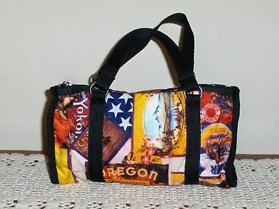 Lesportsac Satchel Patriotic Red White Blue 4th Of July Purse