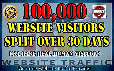 100,000 Views for Your Website Real Web Traffic 100,000 Live Stats