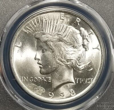 1923 Silver Peace Dollar PCGS MS64 (087)