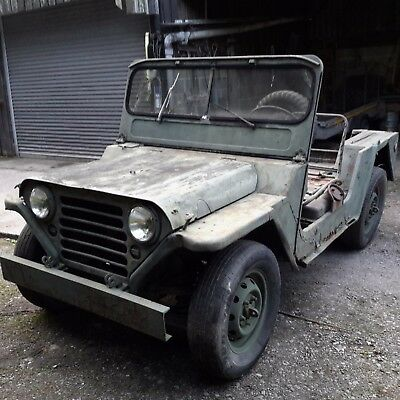 willys jeep kaizer m151a1 mutt jeep 1964 military vehicle barn find