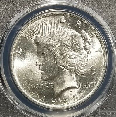 1923 Silver Peace Dollar PCGS MS64 (082)