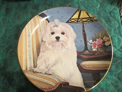 "Danbury Mint ""Precious Portrait""  Collectors Plate"