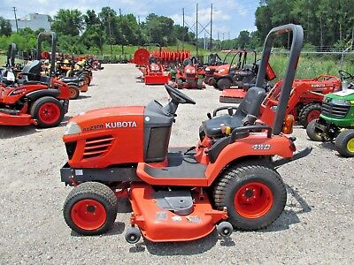 "2010 Kubota BX2350 4WD Tractor w/60"" Belly Deck, Turf Tires, 120hrs"