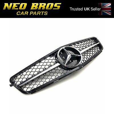 Mercedes C-Class C204 W204 S204 C63 AMG Sports Style Front Radiator Grille