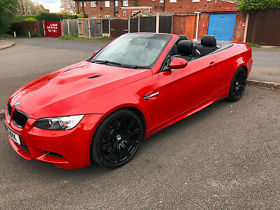 Bmw M3 Conviertible Melbourne Red Rare Manual