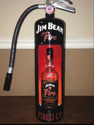 Jim Beam Bottle Display