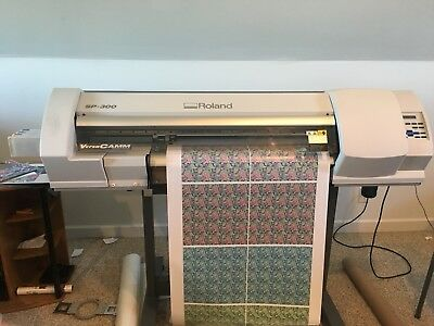 """Roland SP-300 30"""" Printer and Cutter"""