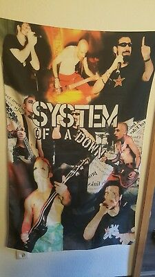 Soad System Of A Down Flagge Fahne Merch Metal Musik