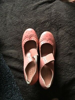 Antique Edwardian Ladies Leather Brides Bridal Shoes French Heel Silk