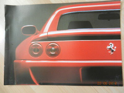 catalogue FERRARI 355 348 Cabriolet 512M 456 GT