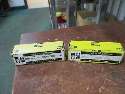 Hyster Carbon Motor Brush 208870 *Lot of 2* New Surplus