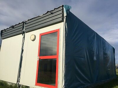 2 bay Modular Building 9,6 x 6 m  Traditional Toilet changing room, Classroom.