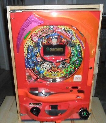 Betty Boop Video Pachinko Machine, Licensed / 200 Balls  Japanese Pinball