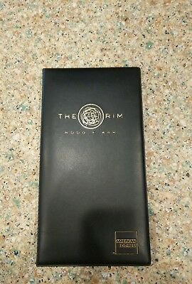 1x Guest Check Holder/Credit Card Folder/ Bill Presenter Trump Taj Mahal Vintage