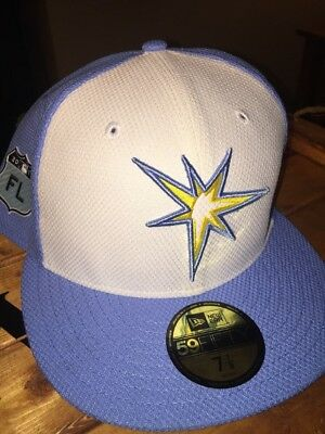 free shipping e18bd 513e2 Tampa Bay Rays New Era 59Fifty Diamond Collection Spring Training Hat