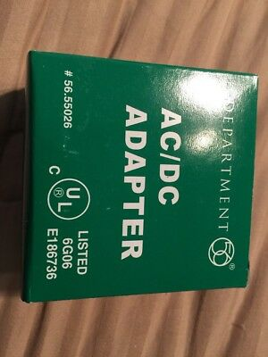 DEPT 56 AC/DC Adapter White