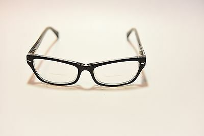 e709bd0ddcb WOMENS DESIGNER EYEGLASS Frames James   Parker Black Crystal 52-16 ...