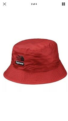 AUTHENTIC Supreme X The North Face Snakeskin Reversible Bucket Hat Crusher  BN L 8217b76d88c