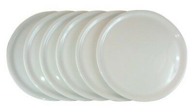 """White 13"""" Pizza Plate Italian Porcelain (cm 33) oven and micro wave safe"""