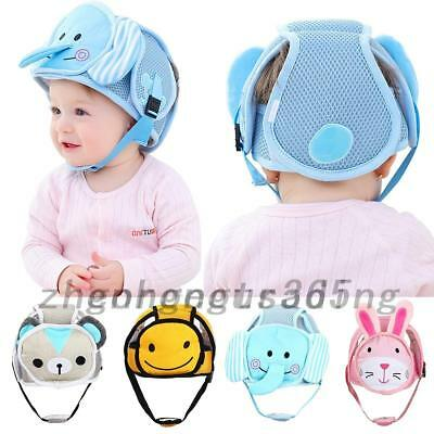 Infant Baby Toddler Safety Head Protection Helmet Hat For Walking Crawling