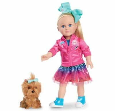 "New JoJo Siwa My Life Doll 18"" Walmart Exclusive With BowBow Plush Dog New JoJo"