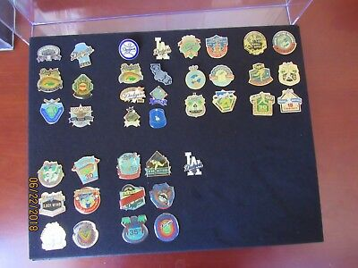Assorted Los Angeles Dodgers Pin Collection (39 Pins)