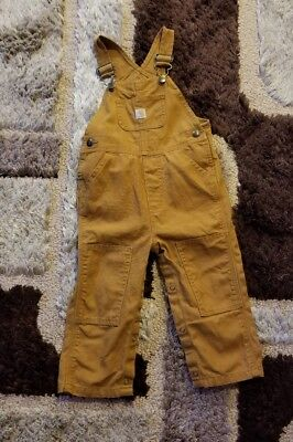 Baby Boy Carhartt Coveralls 24 Mos
