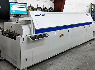Heller 1809EXL 2005 9 zone lead free reflow oven, edge / center board support  4