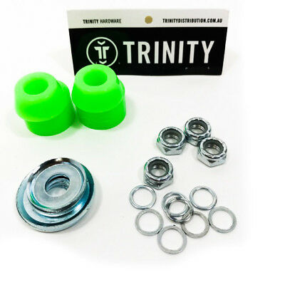 Trinity Truck Repair Kit 90A Red Bushings & Washers/Axle Nuts & Washers