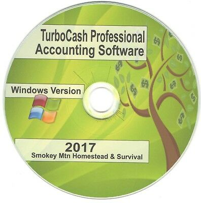 TURBOCASH MS OFFICE PROFESSIONAL ACCOUNTING PLUS SOFTWARE 2016 PC