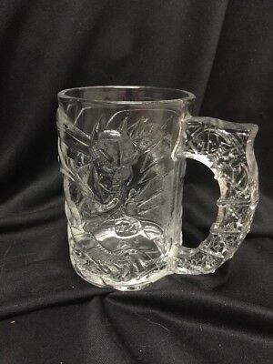 Collectible Mcdonalds Batman Forever Glass Mug 1995