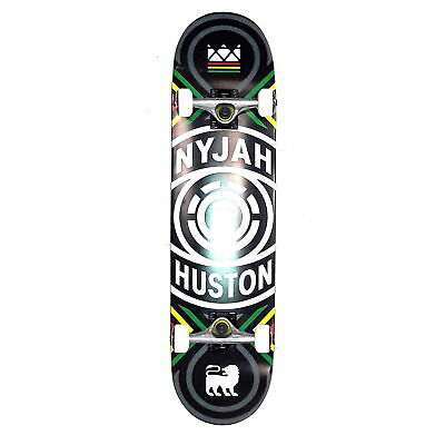 """Element Skateboard Complete Nyjah Crossed 8"""" Pre-Assembled FREE POST"""