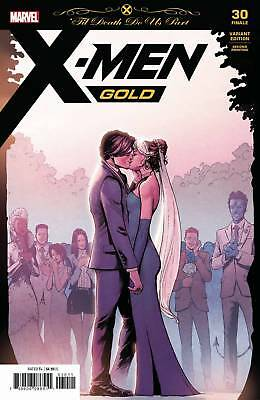 X-MEN GOLD #30 2nd Print Variant Gambit Rogue Marvel Comic NM Presale 7/24/2018