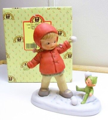 "NIB Enesco Memories of Yesterday  ""LOOK OUT-SOMETHING GOOD IS COMING YOUR WAY"""